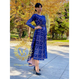 """Guipure designer dress from the """"Autumn 2020"""" collection"""