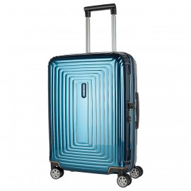 Samsonite blue suitcase