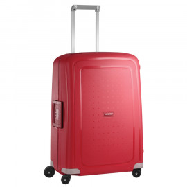 Samsonite suitcase red