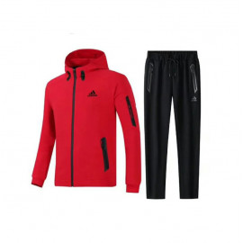 Restime tracksuit black-red
