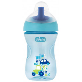 Chicco Advanced Cup (12m+) light blue - 266ml
