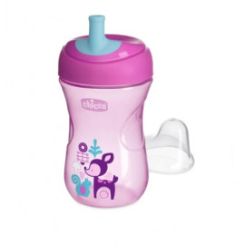 Chicco Advanced Cup (12m+) pink - 266ml
