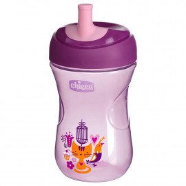 Chicco Advanced Cup (12m+) purple - 266ml